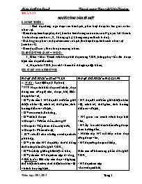 Giáo án các môn lớp 5 - Tuần 19 - Nguyễn Văn Hoàng