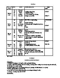Giáo án các môn lớp 5 - Tuần số 13