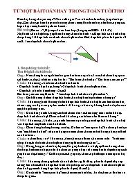 Toán học lớp 5 - Một số bài ôn tập
