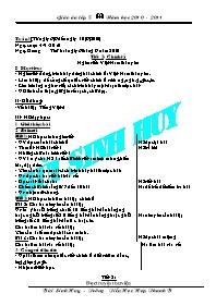 Giáo án các môn học khối 5 - Tuần 1 (buổi 2)