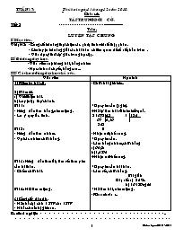 Giáo án các môn học khối 5 - Tuần 17 (chuẩn)