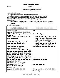 Giáo án các môn khối 5 - Tuần 7 - Nguyễn Thiệ