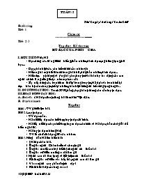 Giáo án các môn khối 5 - Tuần dạy số 16 (chi