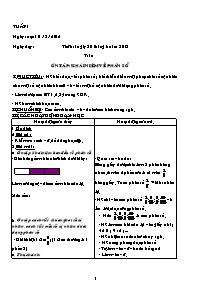 Giáo án các môn khối 5 - Tuần lễ thứ 1