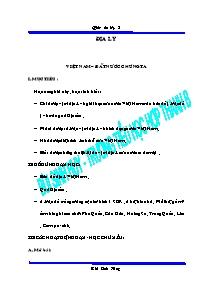 Giáo án Địa lí 5 - Bùi Sinh Huy