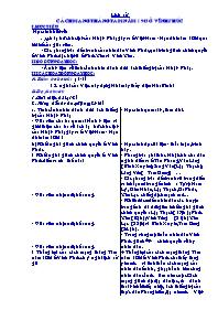 Giáo án Lịch sử - Cách mạng tháng tám năm 194