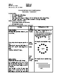Giáo án Thể dục 5 - Tiết 29 - Ôn bài thể dục