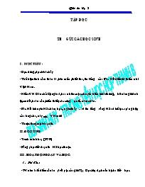 Giáo án Tiếng Việt 5 (chuẩn, chi tiết)