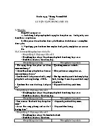 Giáo án Toán 5 - Luyện tập chung (tiết 13)