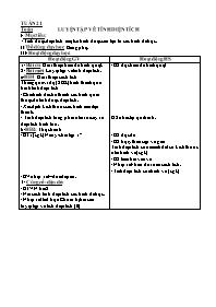 Giáo án Toán 5 - Tiết: Luyện tập về tính diện