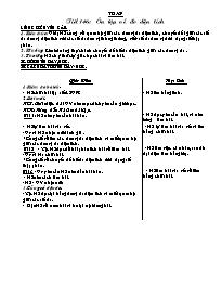 Giáo án Toán học 5 - Tiết 146 đến tiết 150