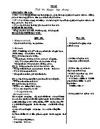 Giáo án Toán học 5 - Tiết 81 đến tiết 85