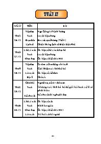 Giáo án Tổng hợp các môn học lớp 5 - Tuần 17
