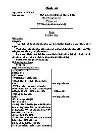 Giáo án các môn học khối 5 - Kì I - Tuần lễ 1
