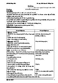 Giáo án các môn học khối 5 - Tuần 14 - Trường Tiểu học số 1 Đồng Sơn
