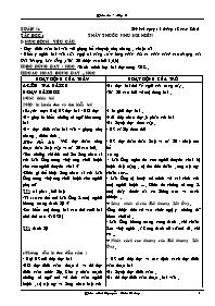 Giáo án các môn học khối 5 - Tuần 16 - Nguyễn Đức Dương