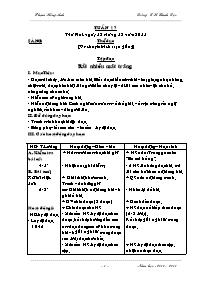 Giáo án các môn học khối 5 - Tuần học 17 - Tr
