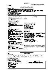 Giáo án các môn học khối 5 - Tuần học 31 (chu