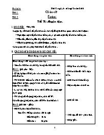 Giáo án các môn học khối 5 - Tuần lễ số 16 (c