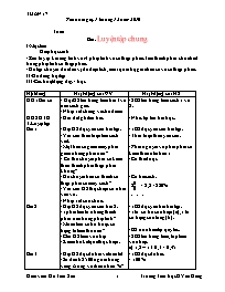 Giáo án các môn học khối 5 - Tuần thứ 17 (chi
