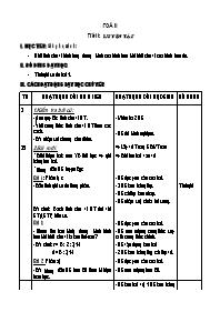 Giáo án các môn học khối 5 - Tuần thứ 20 (chu