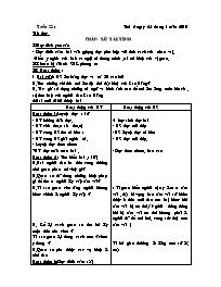 Giáo án các môn học khối 5 - Tuần thứ 23 (chu