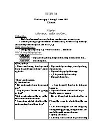 Giáo án các môn học khối 5 - Tuần thứ 34 (chu